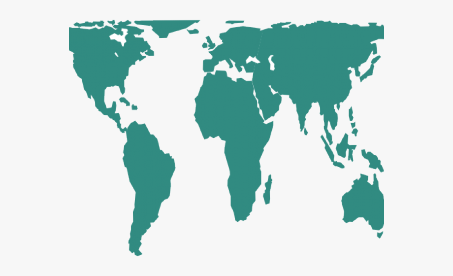 Map Clipart World Map.