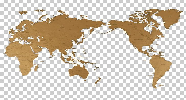 World Map Globe Earth PNG, Clipart, Brown, Continent.