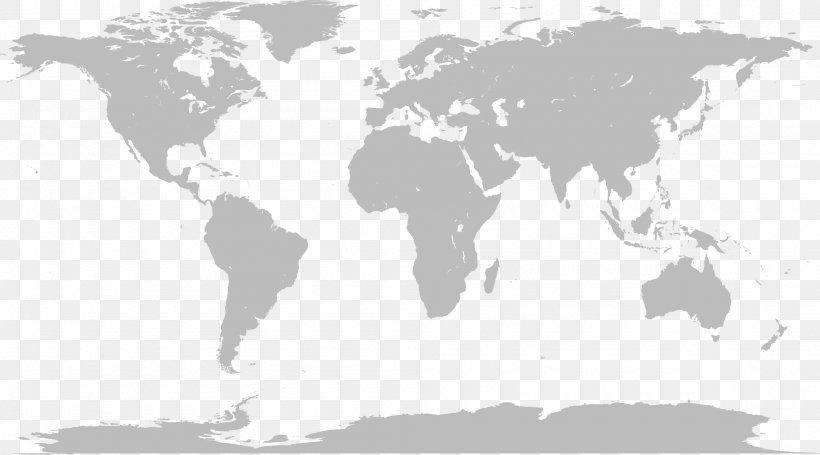 World Map Globe, PNG, 2000x1112px, World, Black And White.