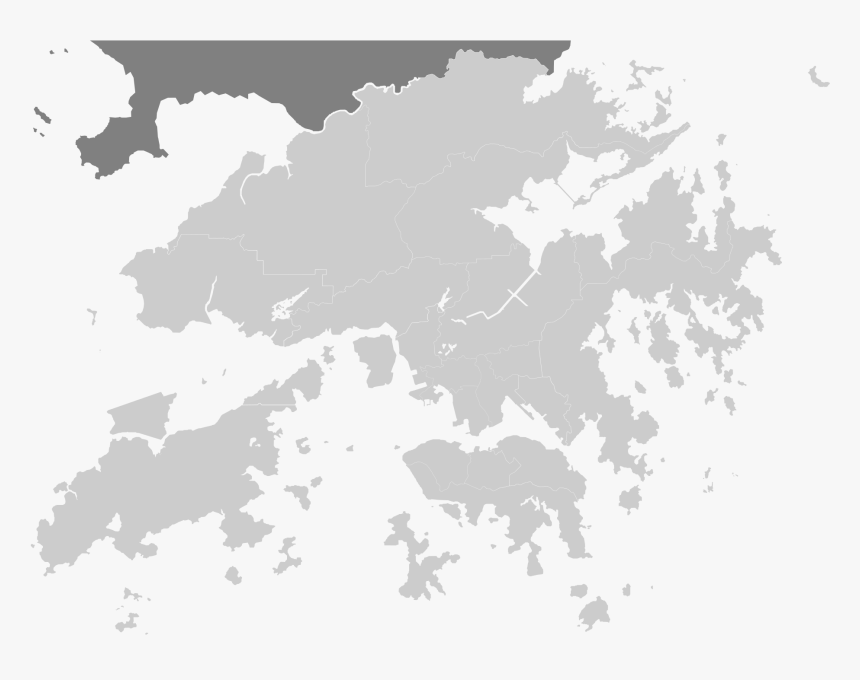 Clip Art Hong Kong On World Map, HD Png Download.