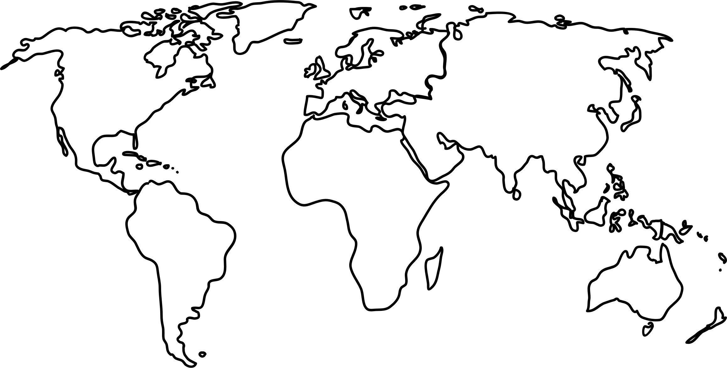 World Map HD 4K.