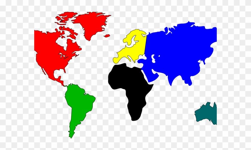 World Map Clipart Mapclip Art.
