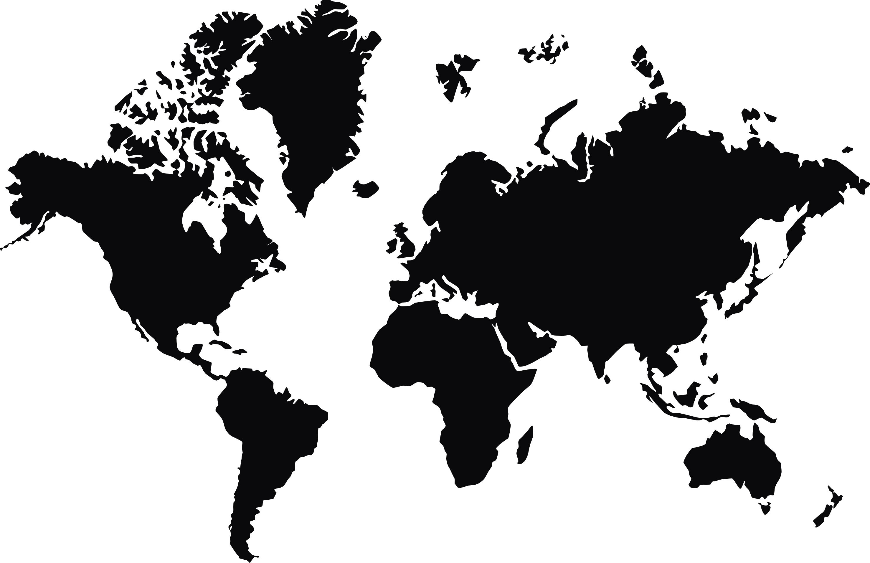 Earth World map Globe.