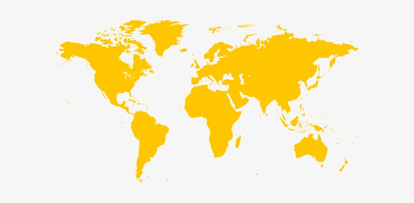 Gold World Map Clipart Png For Web.