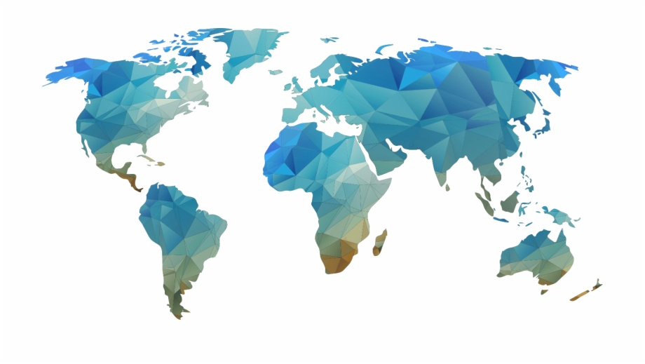 World, World Map, Map Png Image With Transparent Background.