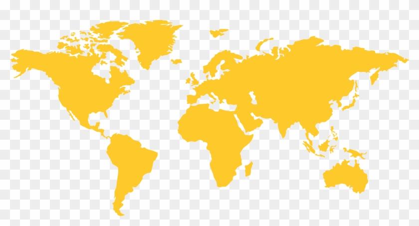 World Map Png Image Transparent Background.