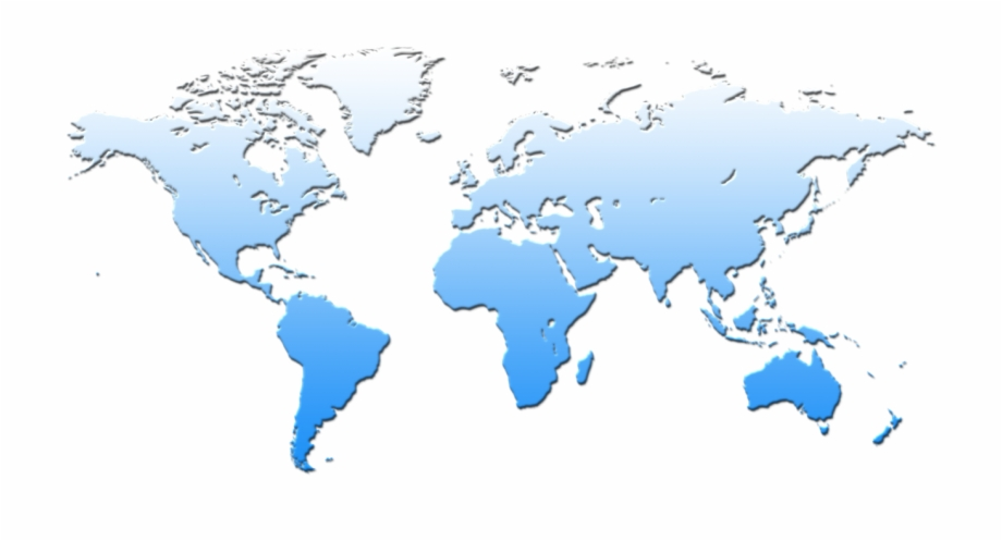 World Map Png Transparent Background Download.