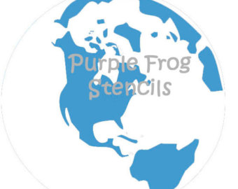 World map stencil clipart clipground world map stencil gumiabroncs Image collections