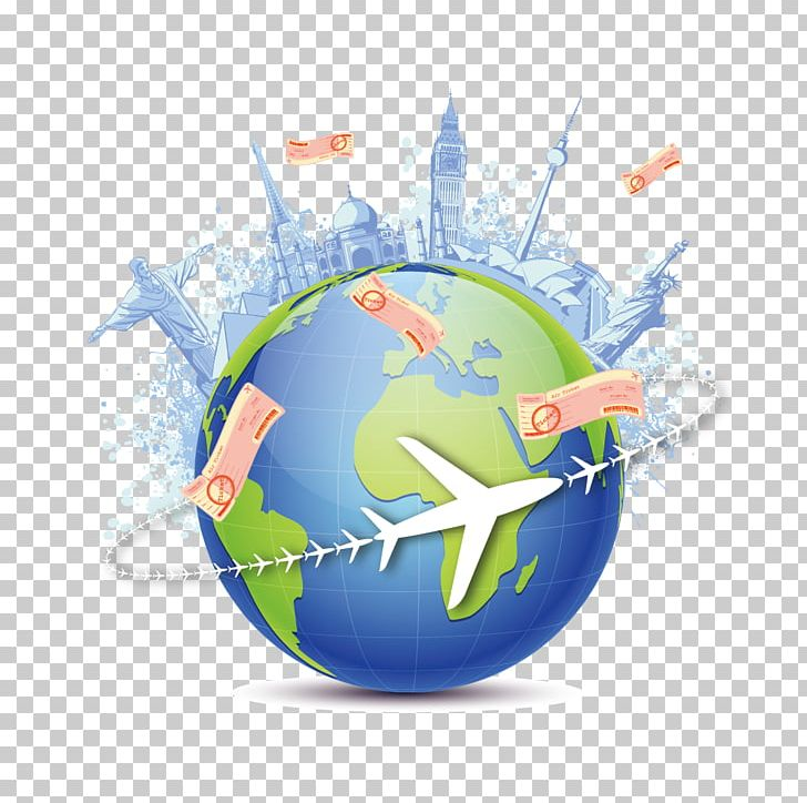 Globe World Map Earth Travel PNG, Clipart, Airbnb, Aircraft.