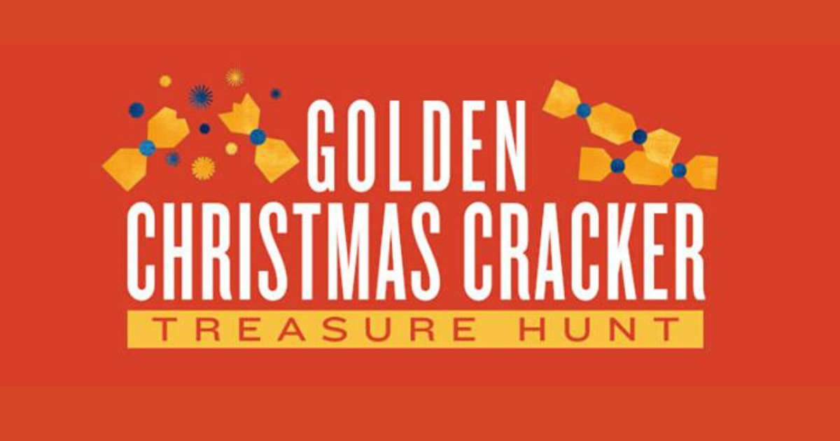Cost Plus World Market Golden Christmas Cracker Treasure.