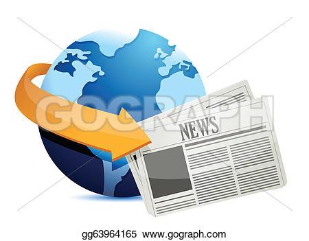 Globe Clip Art Newspaper.