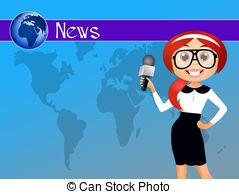 Clip Art of News World.
