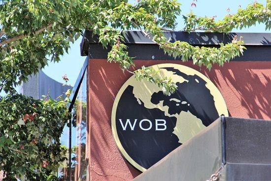World of beer logo.