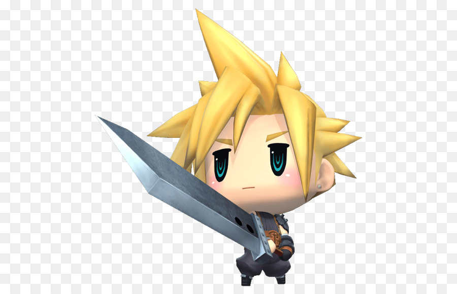 Cloud Final Fantasy png download.