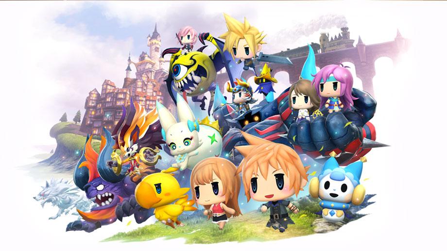 World of Final Fantasy®.