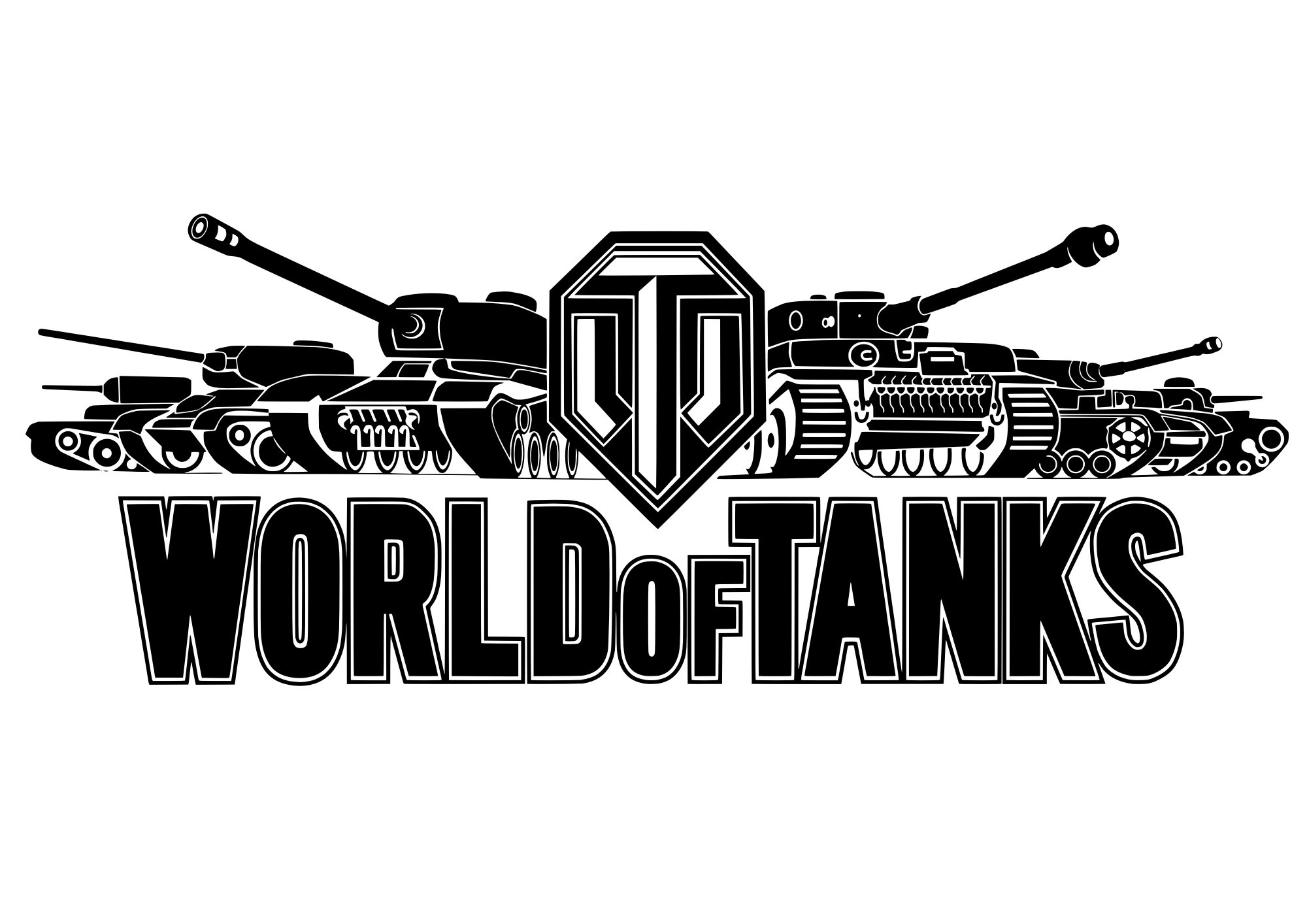 World of Tanks Logo Vector Free Vector cdr Download.
