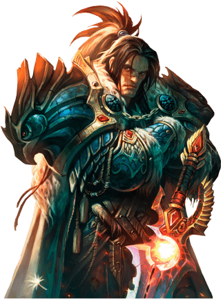 World Of Warcraft Varian Wrynn transparent PNG.
