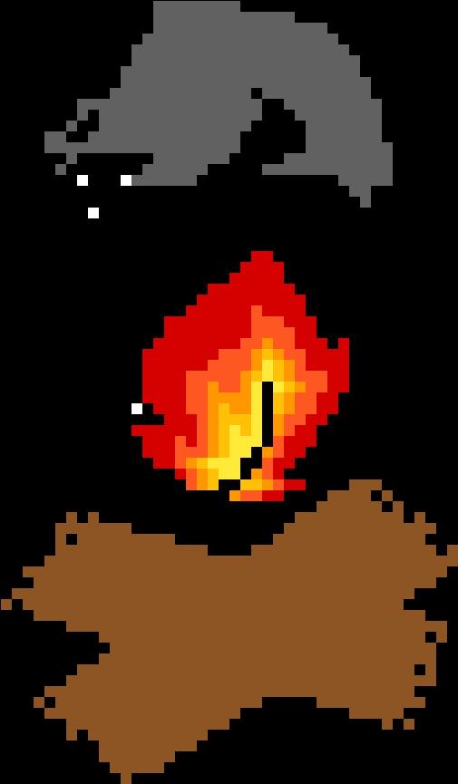 Fire In A World Of Art.