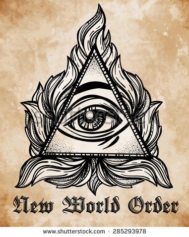New world order hat clipart.
