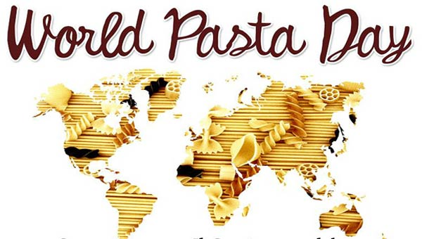 WORLD PASTA DAY.