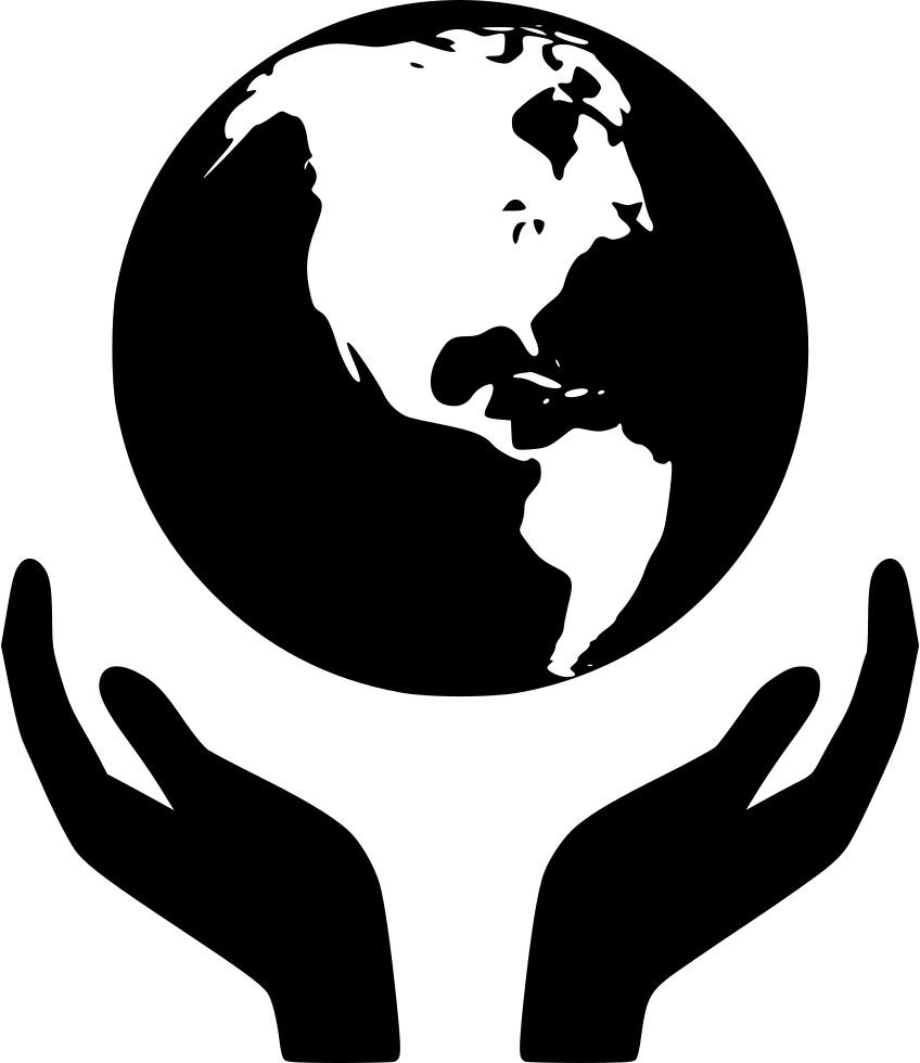 World Hand Svg Png Icon Free Download (#453191).