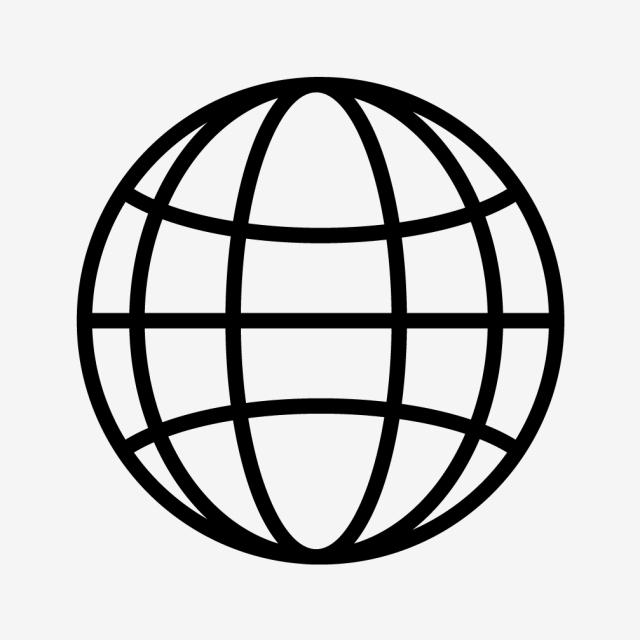 Vector Globe Icon, Globe Icon, World Icon, Earth Icon PNG and Vector.