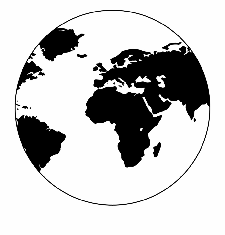 World Earth Globe Graphic Water Png Image.