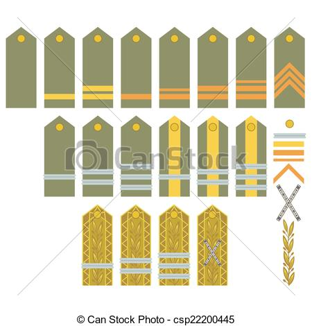 Drawing of Insignia of the Romanian Army.