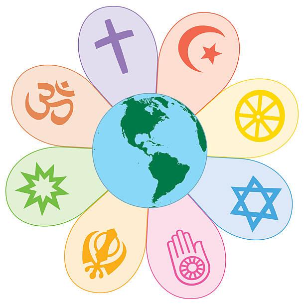 Best Religious Symbols Illustrations, Royalty.