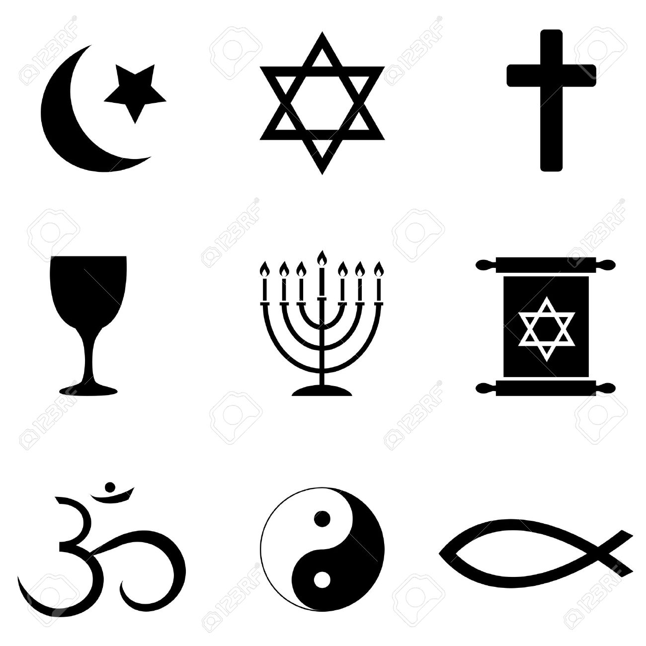 Free Clipart Of Religious Symbols.