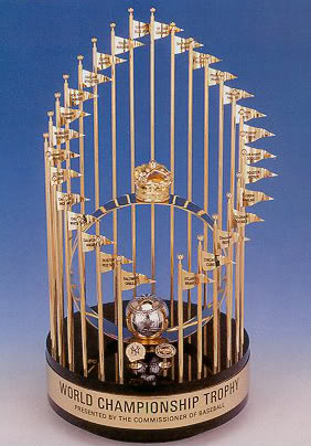 World Series Trophy Clipart.
