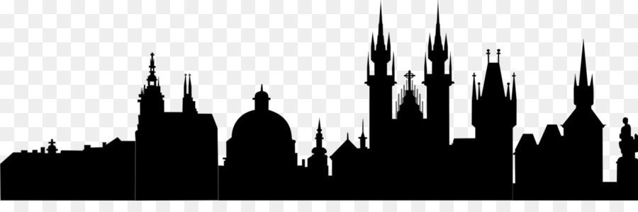City Skyline Silhouette clipart.