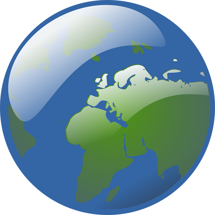 Free vector graphic: Globe, World, Earth, Rotating.