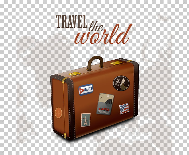 Suitcase Baggage , Travel PNG clipart.