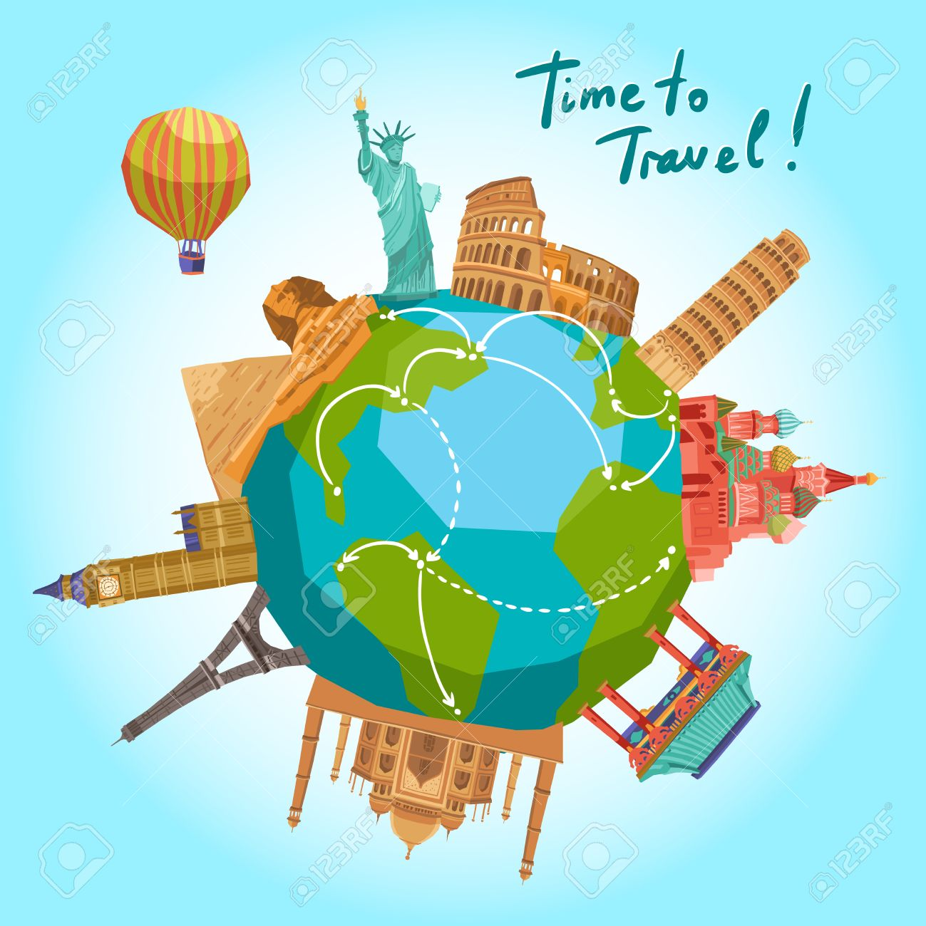 World Travel Clipart & Clip Art Images #32737.