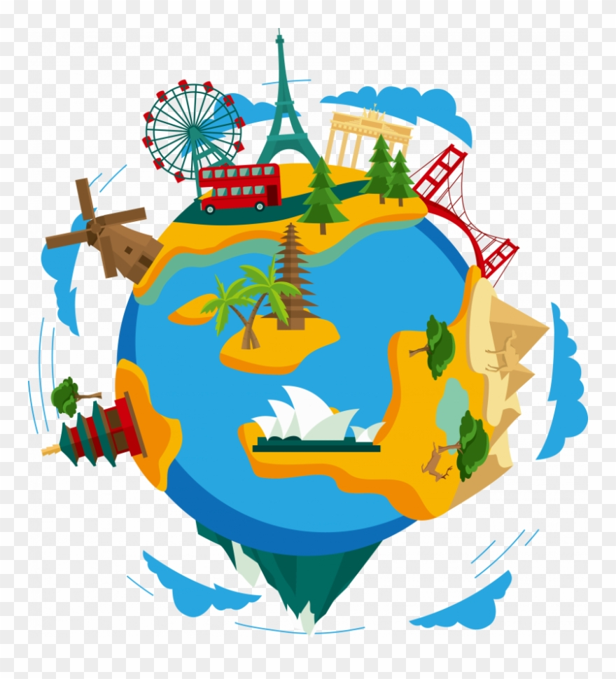 Travel Around The World Png Clipart (#265026).
