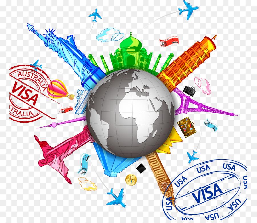 Travel Globe png download.