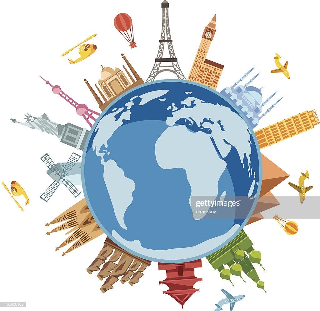 60 Top Travel Destinations Stock Illustrations, Clip art, Cartoons.