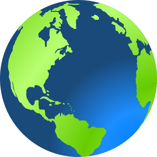 Earth Clipart Oval.