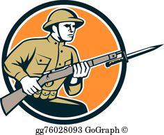 World War One Clip Art.