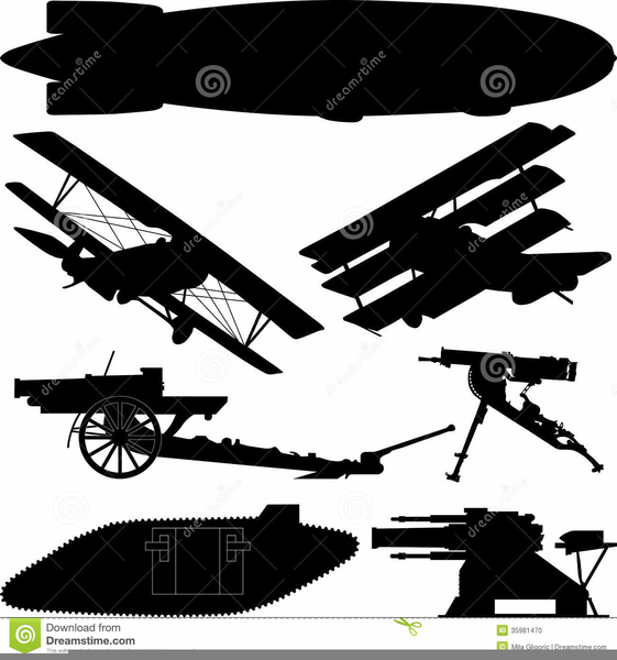 World War One Clipart Images.