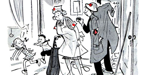 Cartoons from the World War II Home Front.