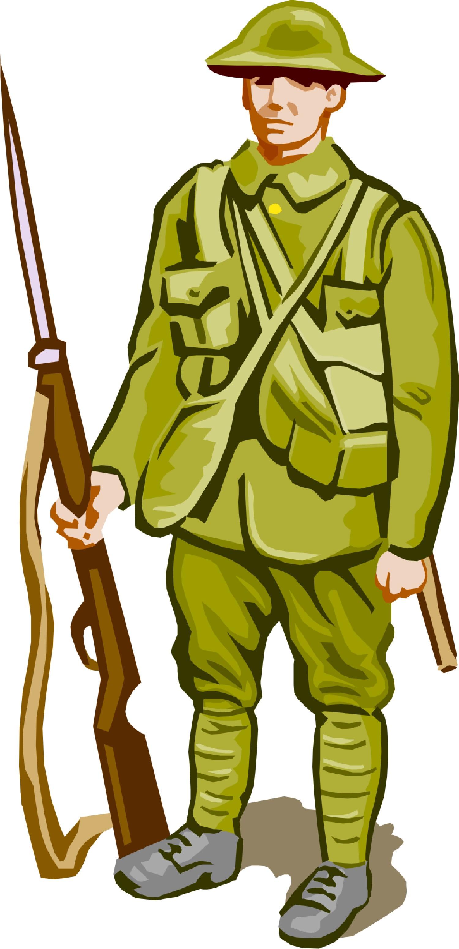 World War I Clip Art.