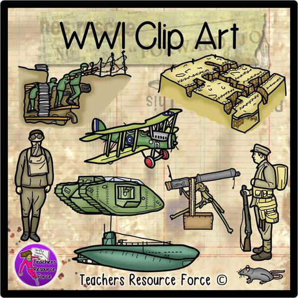 World War 1 Clip Art.