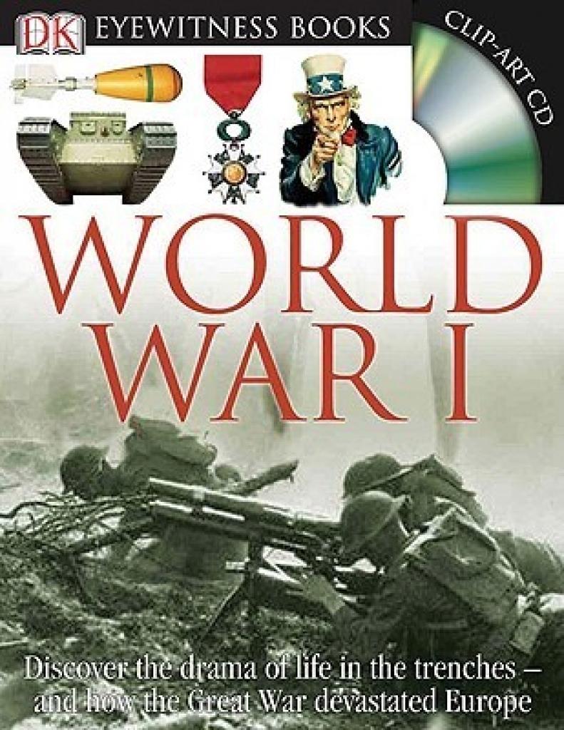 hardcover book world war i clip art cd dk eyewitness books and.