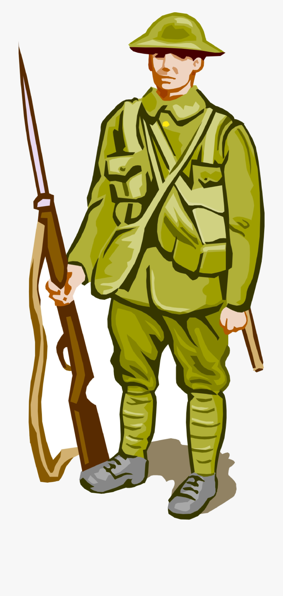 Soldier Free American Cliparts Clip Art Transparent.