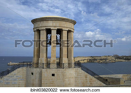 "Stock Photo of ""Siege Bell Monument commemorating people who lost."