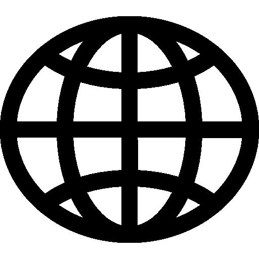 World wide web globe Icons.