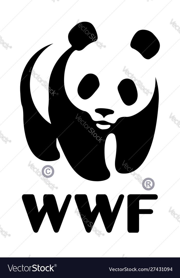 World wildlife fund wwf logo.