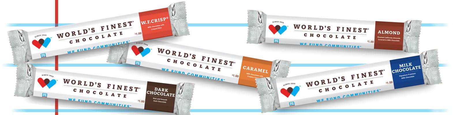 World's Finest Chocolate Fundraising.